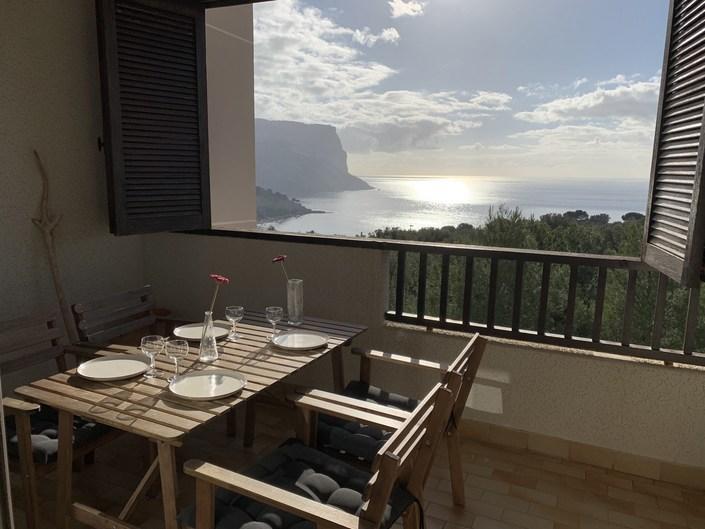 For rent Seasonal rental T3, Cassis, sea view