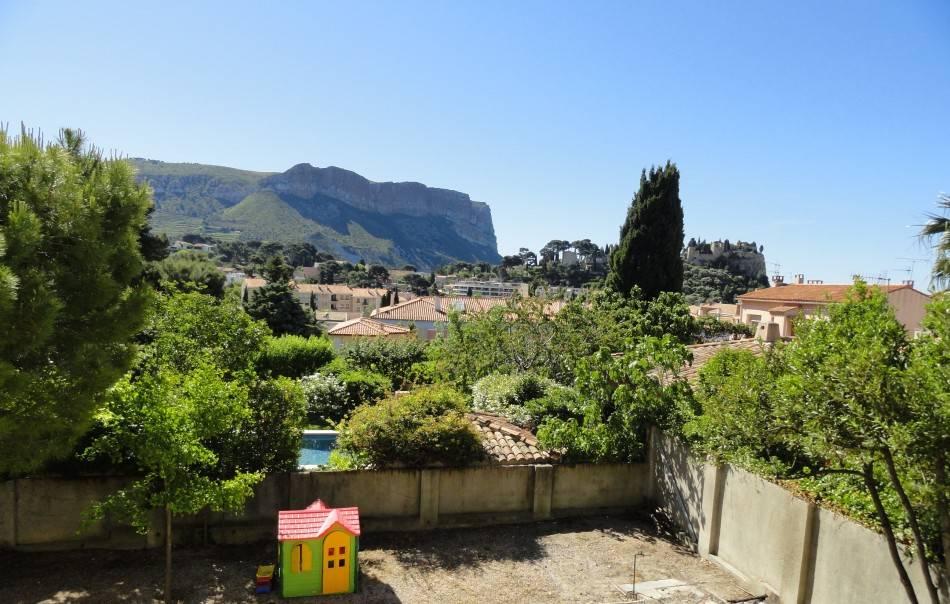 Vente villa T6 Cassis plein centre vue dégagée