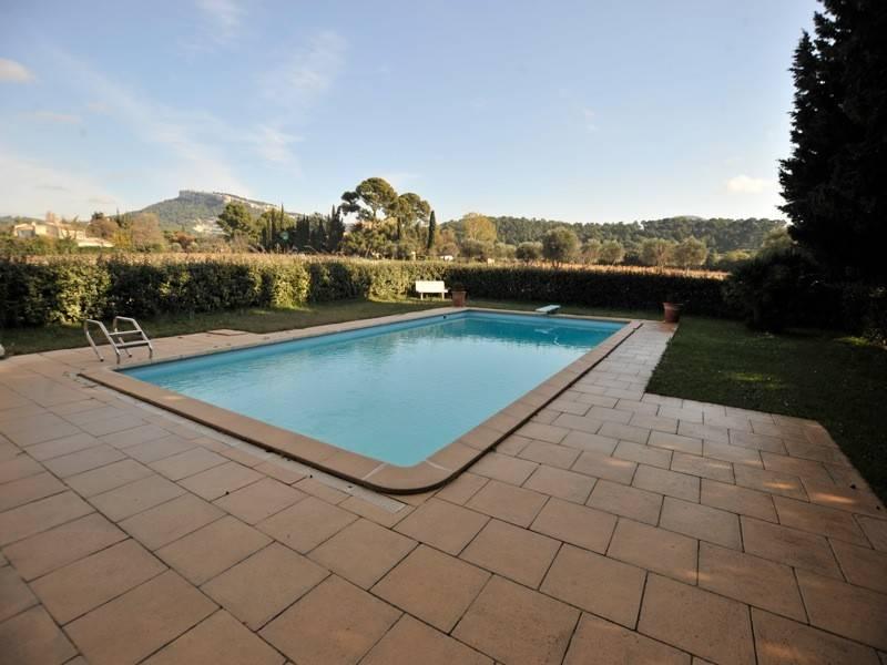 Vente  mas en campagne T6 Cassis piscine, vue dégagée, grand terrain, garage, dépendance