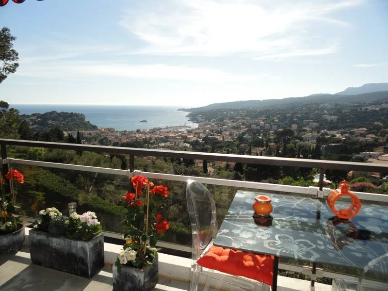Vente T2 Cassis vue mer, piscine, terrasse, ascenseur